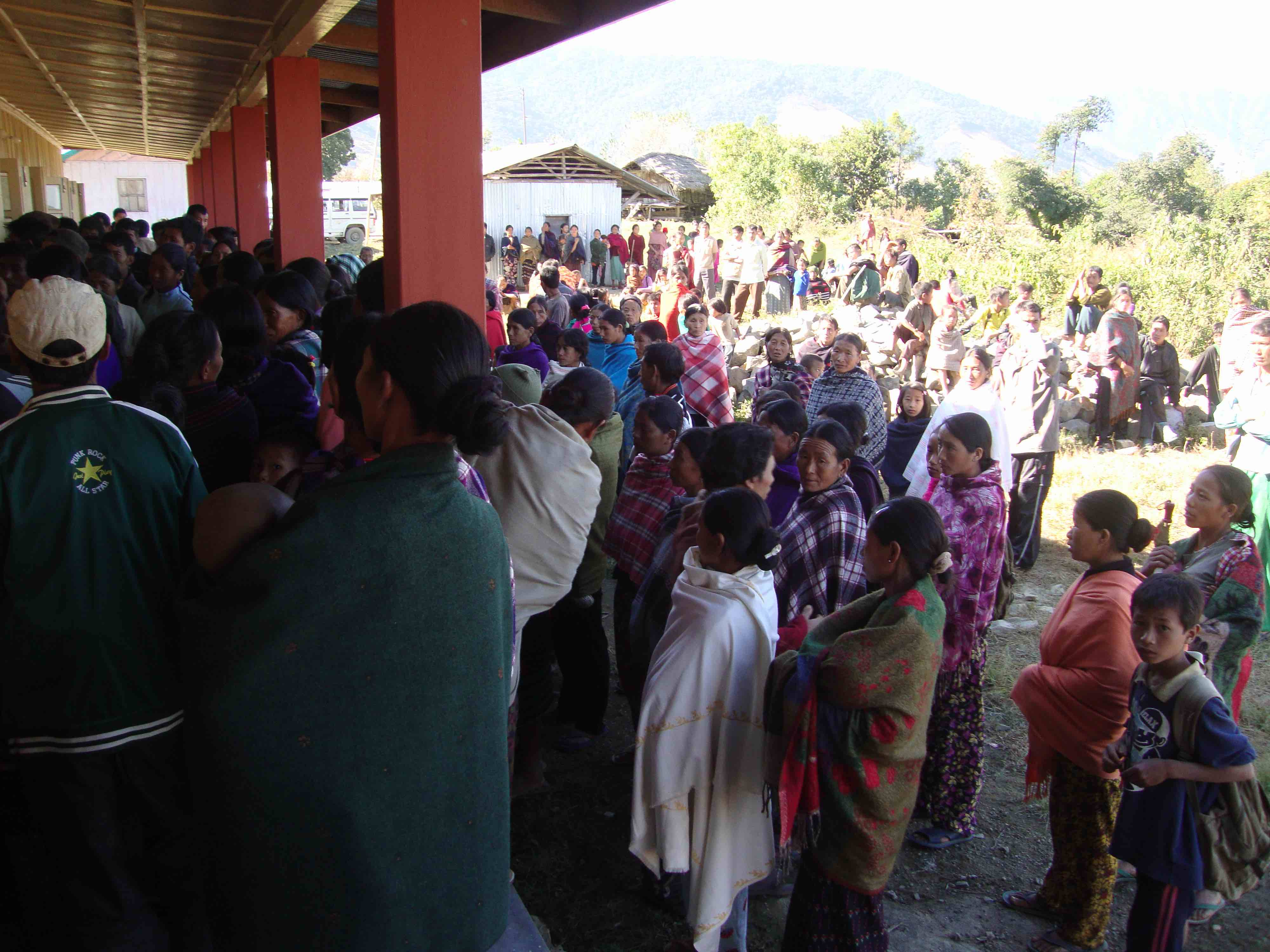 Residents of Tuensang, Mon and Longleng attend a free annual surgical camp organised by the NGO Eleutheros Christian Society in the Public Health Centre in Longpong, which functions in a public-private partnership between the NGO and National Health Mission. Eight such camps have been organised so far and 554 surgeries conducted. Courtesy: Eleutheros Christian Society