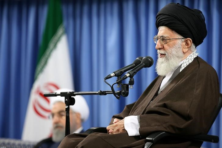 Iran's Leader Slams Rouhani's Detente Policy Ahead of Elections