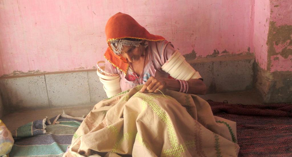 Women Artisans of Thar Desert Overcome Adversity Through Embroidery