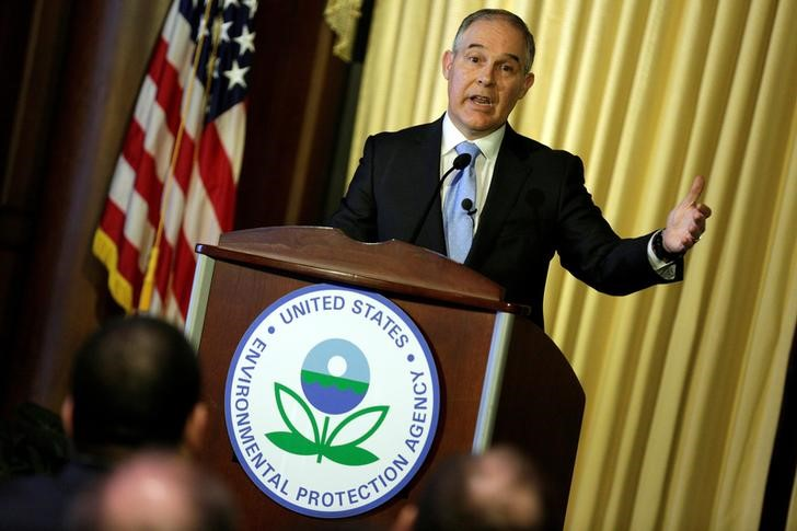 US Environmental Agency Chief Recuses Himself From Court Cases