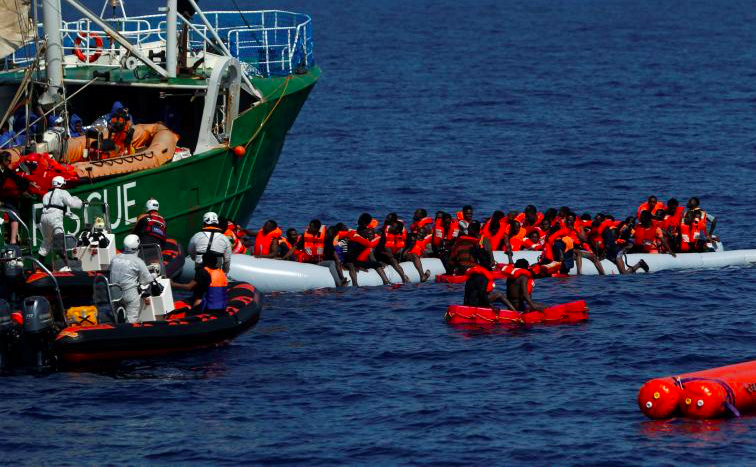 Surviving Migrants Arriving in Italy Report Number of People Lost