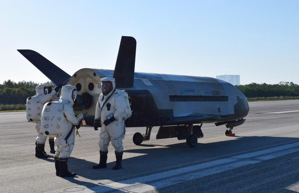 Unmanned US Military Space Plane Returns After Classified, Two-Year Mission