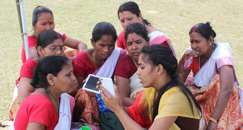 Rural Women in Assam Explore New Possibilities Through the Internet