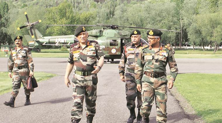 Army Vows 'Appropriate' Action to Beheading of Soldiers, Chief Reaches Srinagar