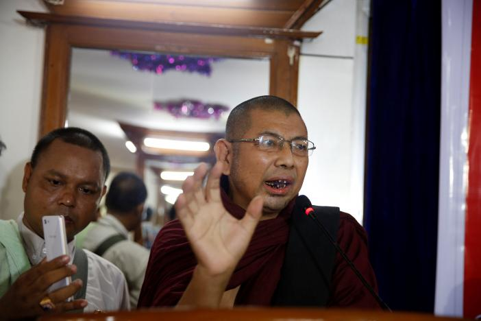 Myanmar Arrests Two Buddhist Nationalists Accused of Targeting Muslims