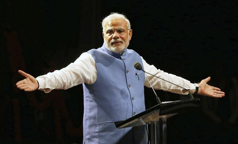 Prime Minister Narendra Modi's track-record with regard to human development is lacking. Credit: Reuters