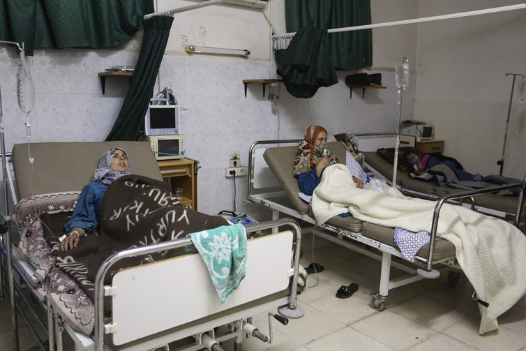 At least 168 attacks on medical facilities are thought to have been carried out in Syria in the second half of 2016. Credit: Badi Khlif/Reuters