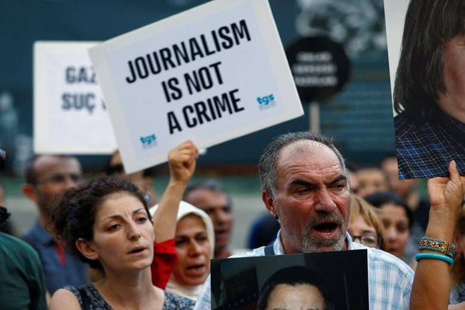 'International Community Must Be More Proactive in Addressing Press Freedom'