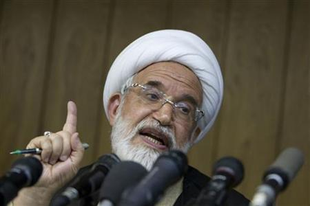 Iran's President Rouhani to Get Opposition Figure Karoubi's Vote in Election