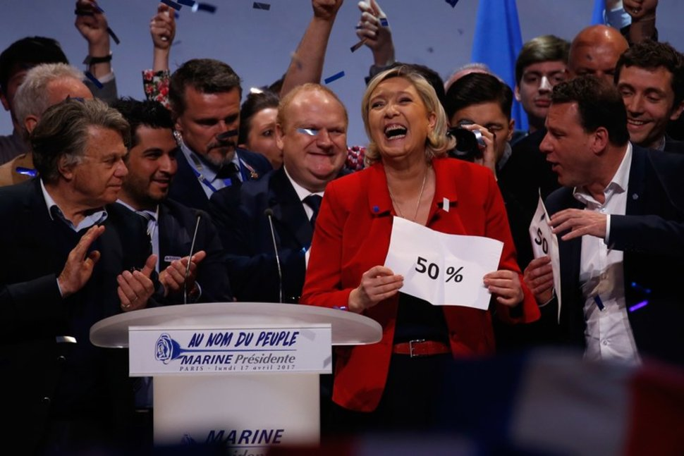 How Marine Le Pen Could Win the French Presidential Election Even If She Polls Lower Than 50%