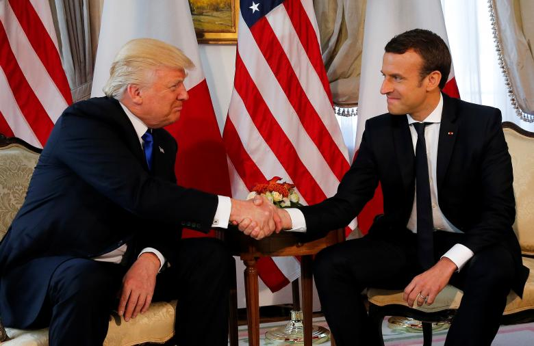 Macron Urges Trump to Avoid Hasty Climate Change Decision