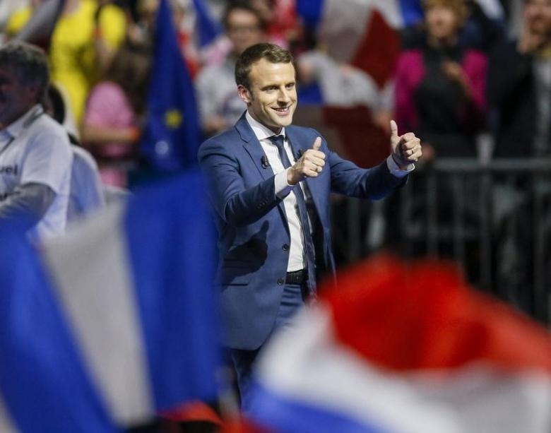 Polls Suggest Parliamentary Majority Within Reach for France's Emmanuel Macron