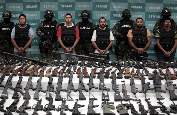 Soldiers Kill Seven Suspected Gang Members in Gun Battle in Mexico