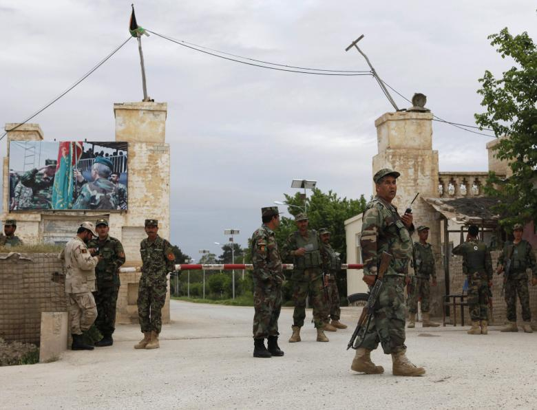 Militant Attack on Afghan Army Base Kills Ten Soldiers