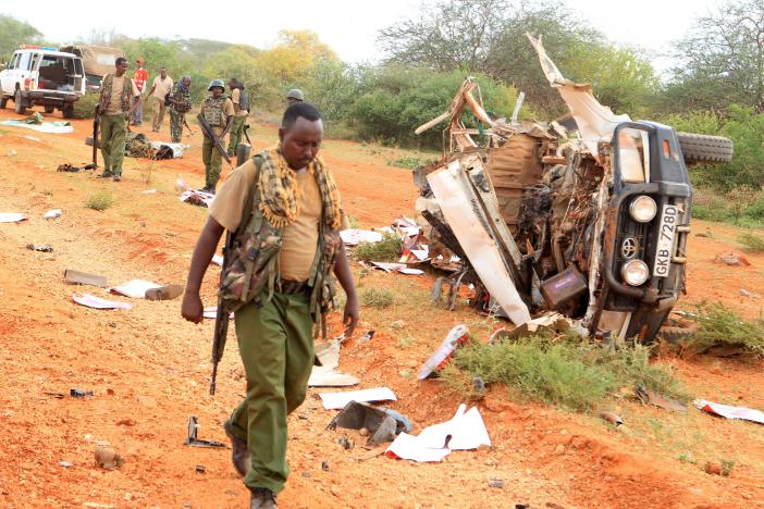 Two Kenyan Police Killed in Latest Bombing by Somali Islamists