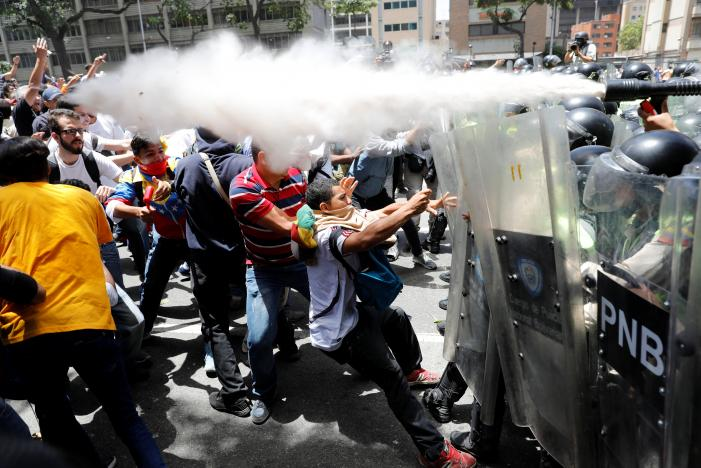 Teenager Dies During Anti-Maduro Protest in Venezuela