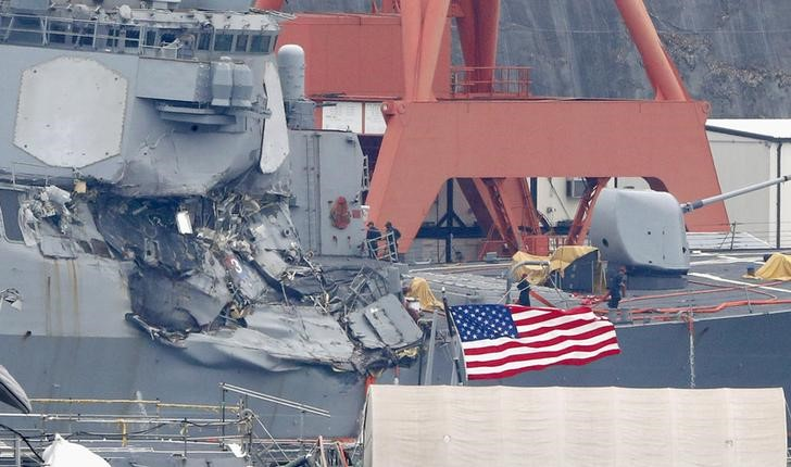 All Seven Missing Sailors From USS Fitzgerald Found Dead: US Navy
