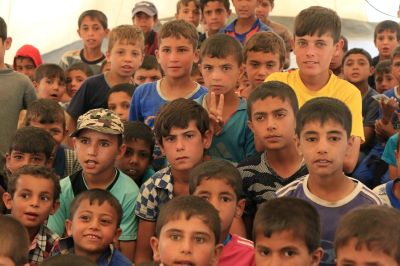 In Iraq, More Than Five Million Children Need Humanitarian Aid: UNICEF