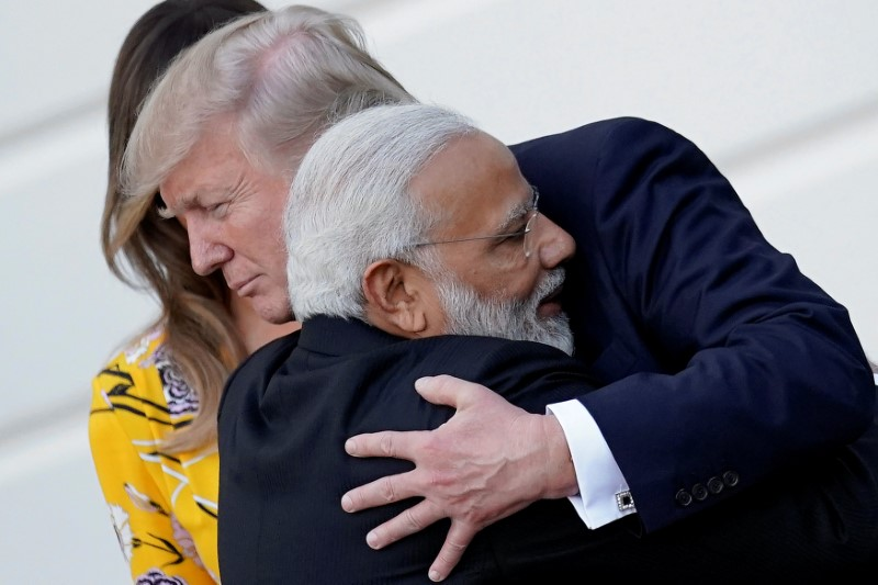 Trump Endorses India Ties With Gusto, Joint Statement Takes Shot at China's OBOR