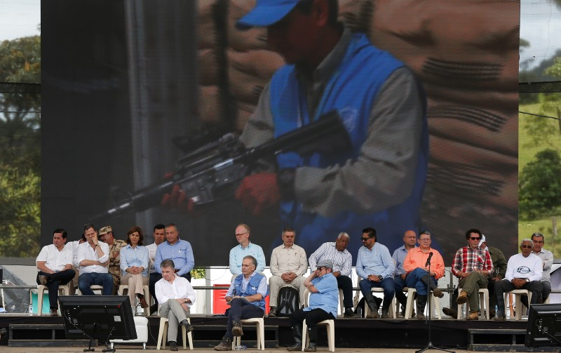 Colombia's FARC Rebels Hand Over Weapons, Ending Armed War With Government
