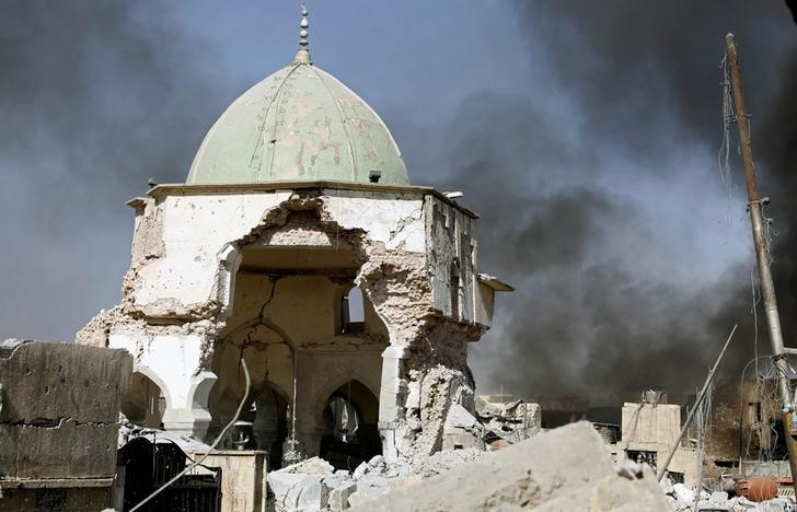 Iraq Captures Mosul Mosque, Declares End of ISIS Caliphate