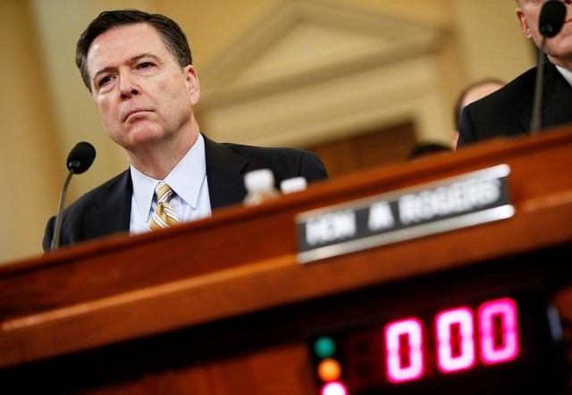 In Testimony, James Comey Says Trump Asked Him to Drop Flynn-Russia Probe