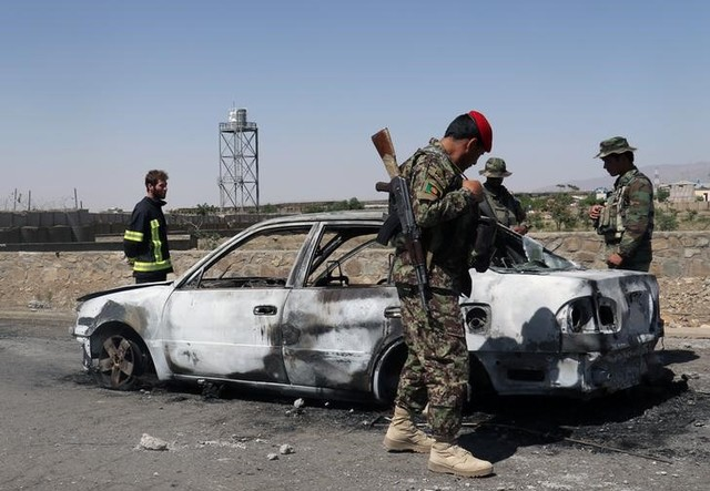 At Least Six Killed in Attack on Afghanistan Police Headquarters