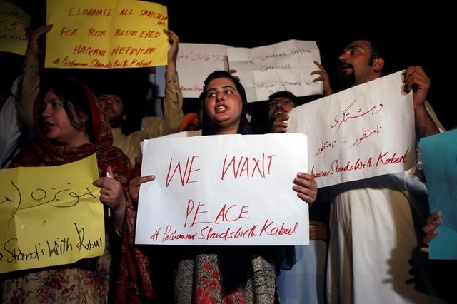 Protests Following Afghan Blasts Call for Security Chiefs to Step Down