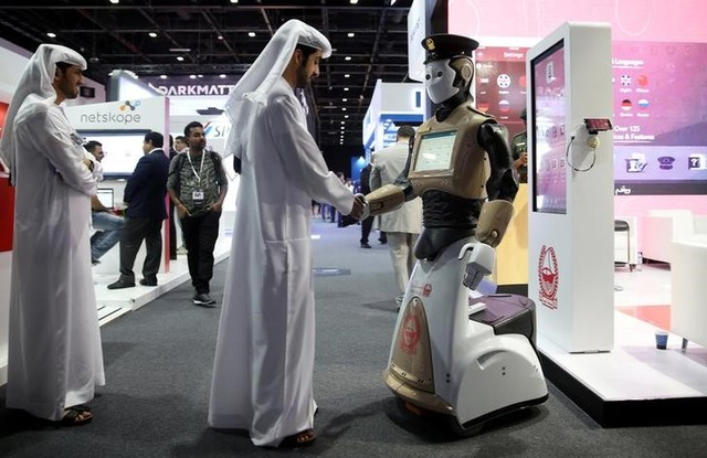 Life-Sized Robots Join Dubai Police to Fight Crime