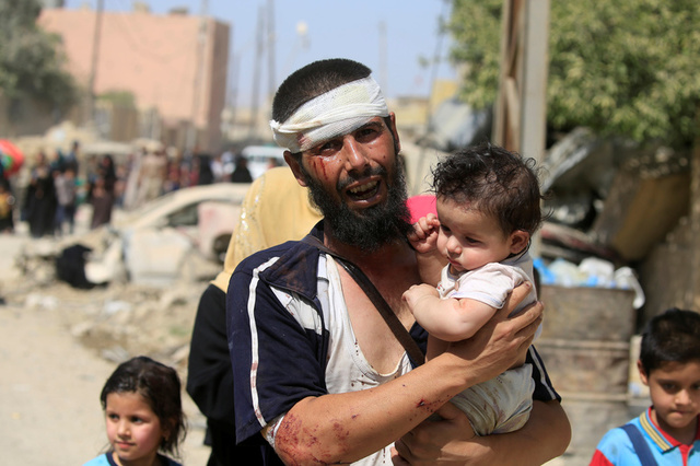 UNICEF Says 100,000 Children Trapped in ISIS-Held Mosul
