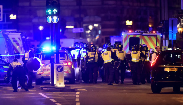 Six Dead, 30 Injured as Suspected Militants Ram Van Into London Bridge Crowd