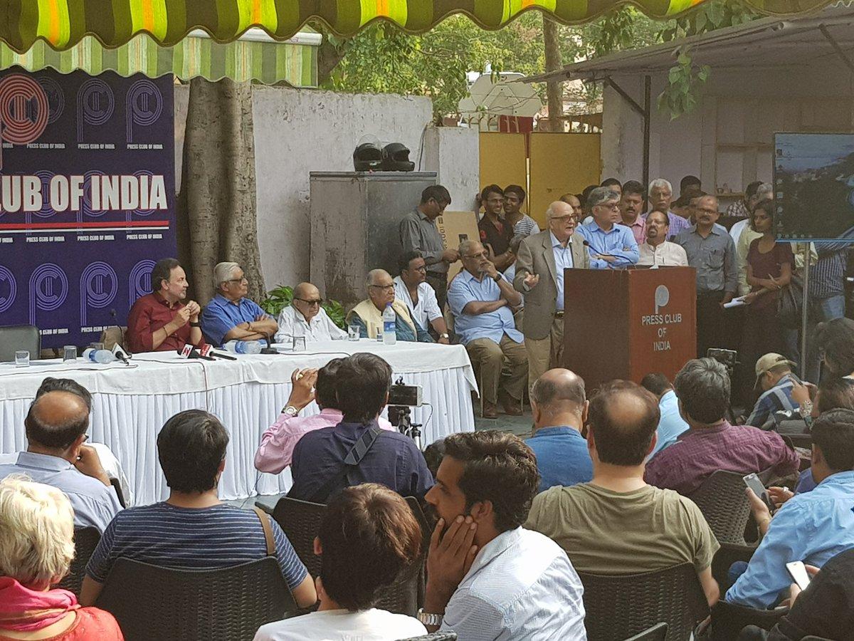 We Must Prevent Further De-Legitimisation of the Media: Fali Nariman on NDTV-CBI Raids