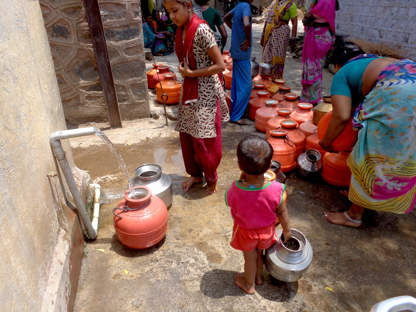 Wells of Despair: The Desperation for Water