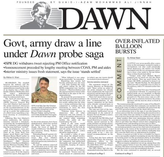 How a Pakistani Newspaper Stood Up for Itself Against Government, Military