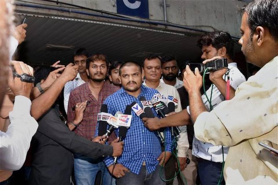 Hardik Patel Detained En Route to Mandsaur