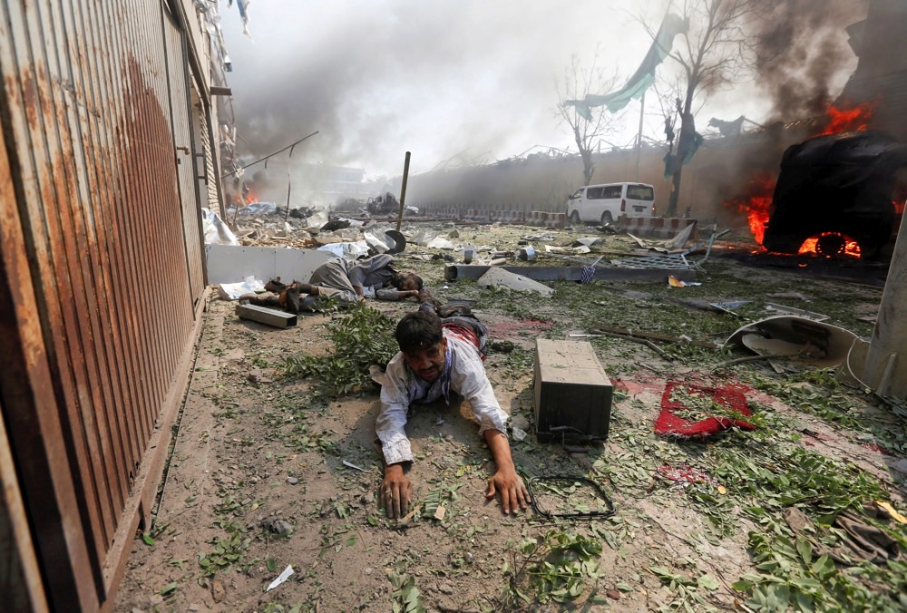 Pictures and Stories: Photographing Carnage in Kabul