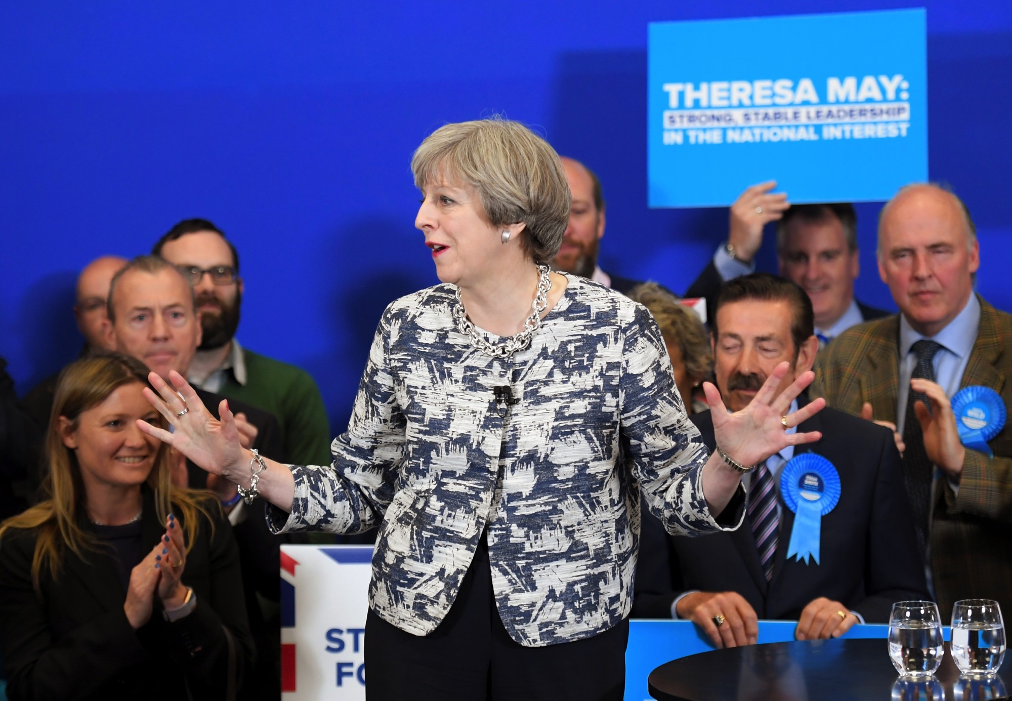 On Eve of Election, May Tried to Put Focus Back on Brexit
