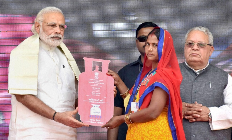 The Poor Got LPG Cylinders Under Modi's Scheme But They Can't Afford Gas Refills