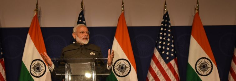On Eve of Trump Meeting, Modi Rallies Indian Americans With Talk of Surgical Strikes, Terrorism
