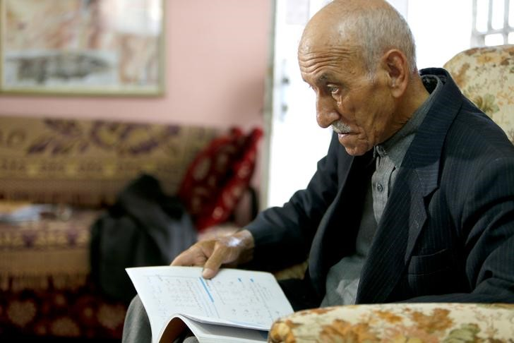 81-Year-Old Palestinian Grandfather Takes High School Exams (Again)