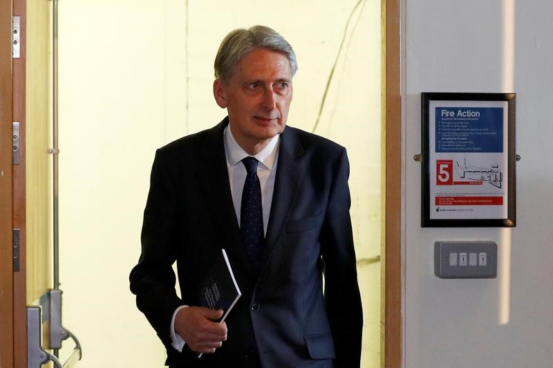 May Retains Hammond as Finance Minister, Others Remain in Top Jobs