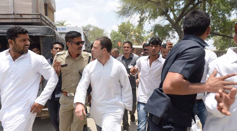 Rahul Gandhi Detained While Trying to Meet MP Farmers, Lashes Out at Modi