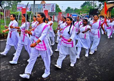 Swords, Knives and Motherhood: Lessons from an RSS Women's Wing Camp