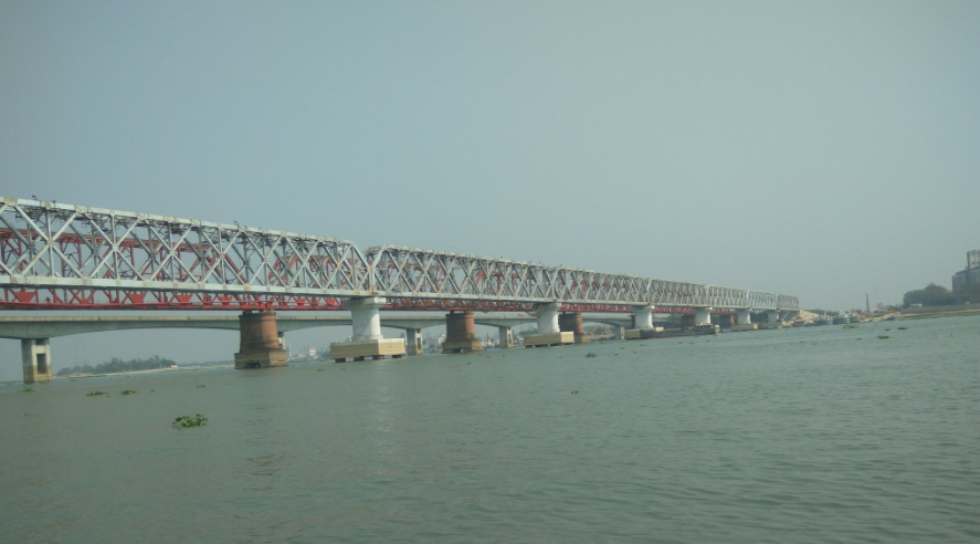 The Bhairab Bridge in Bangladesh, built by a Kolkata-based company. Credit: Twitter
