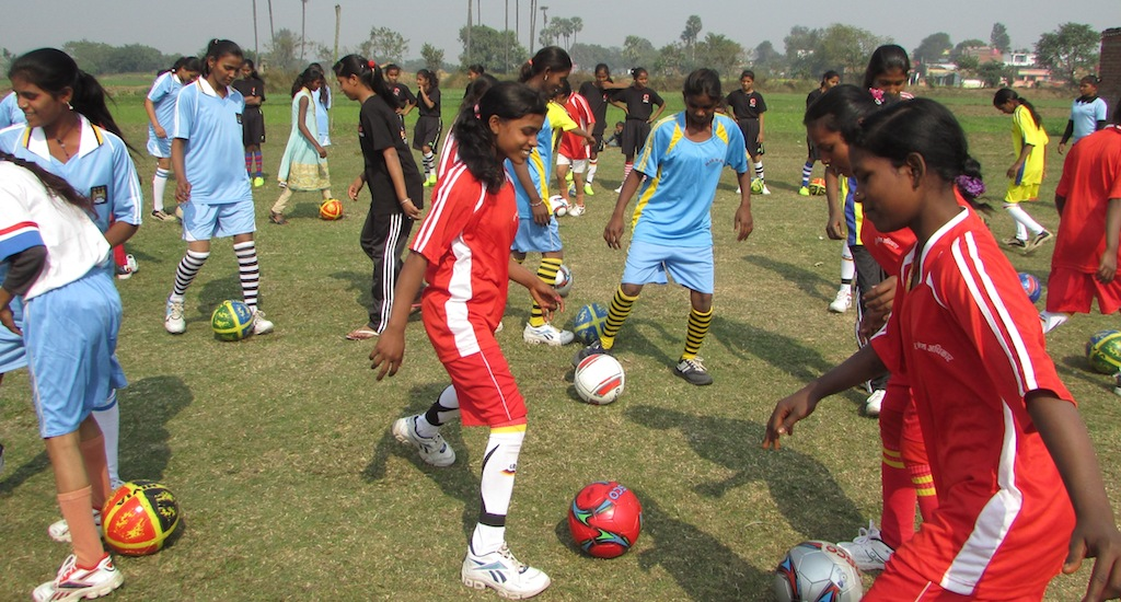 Football Clubs for Girls in Bihar Help Avoid Child Marriage