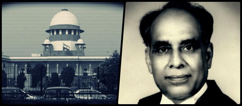 Supreme Court. Credit: PTI. Justice H.R. Khanna. Credit: Wikipedia