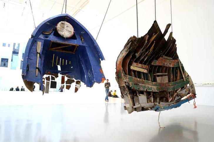 Documenta 14 Kicks off, Showcases Parthenon of Forbidden Books, Pipe Homes of Refugees
