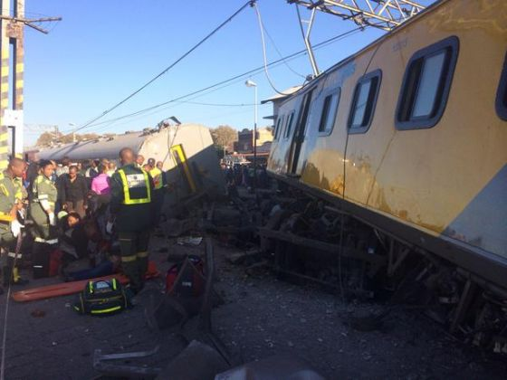 South Africa Train Collision Leaves More Than 100 Injured, 1 Dead