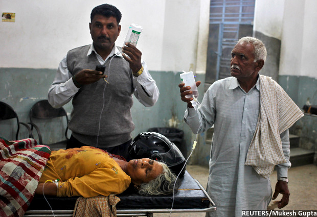 India Fares Miserably in Providing Quality Healthcare Access to Its Citizens