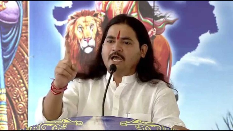 Prime accused Dhananjay Jayram Desai, the founder president of radical outfit Hindu Rashtra Sena (HRS). Credit: YouTube